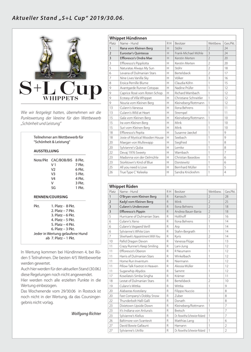 S&L-Cup Whippets Stand Juni